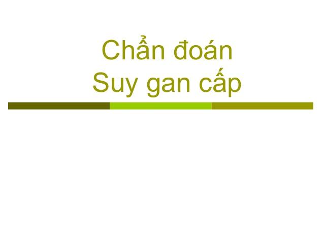 SUY GAN CẤP